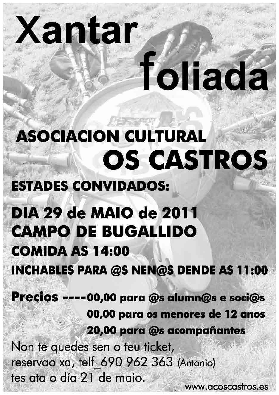 COMIDA E FOLIADA 2011