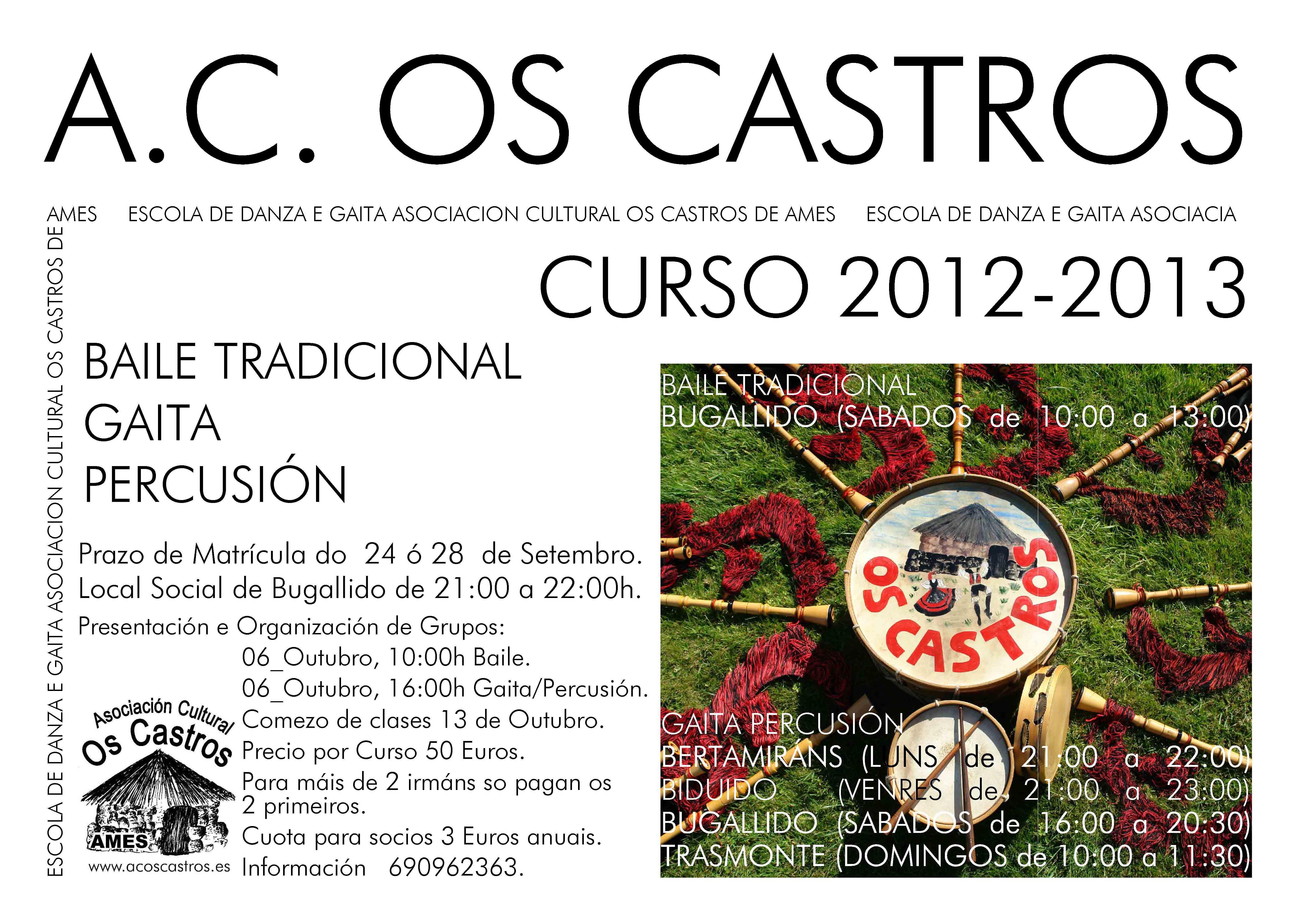 CARTEL CURSO 2012-2013