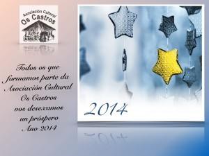 Felicitación Ano 2014 A.C.Os Castros