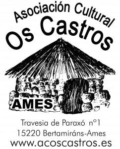 Logo A.C. Os Castros con dirección